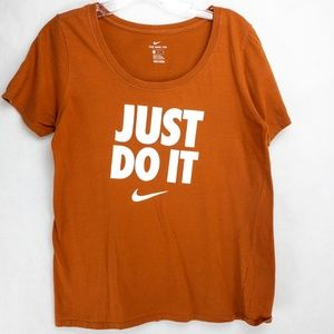 Nike T shirt 'Just do it' Size M